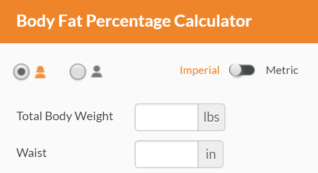 body fat percentage calipers