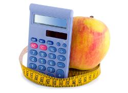 Food nutrition calculator software
