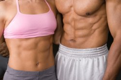 Man - Woman - Abs