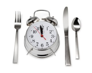 Hunger Appetite Clock Utensils